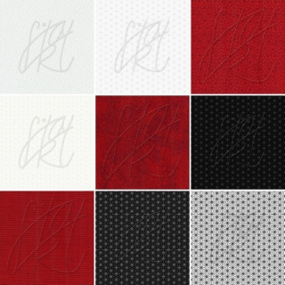 BLACK-RED-WHITE 100